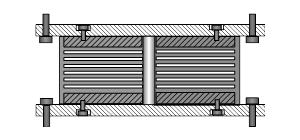 Резинометалические опорные части для мостов роч